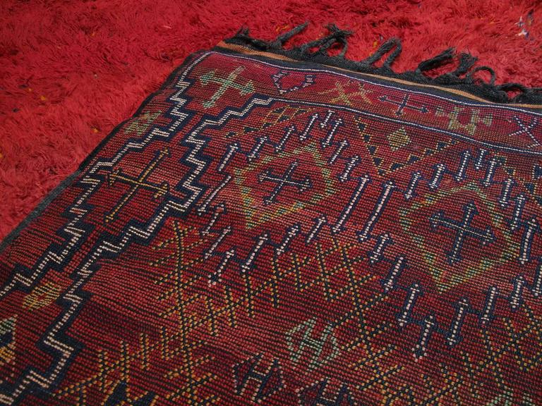 """Firebird"", Zayan Moroccan Berber Carpet For Sale 3"