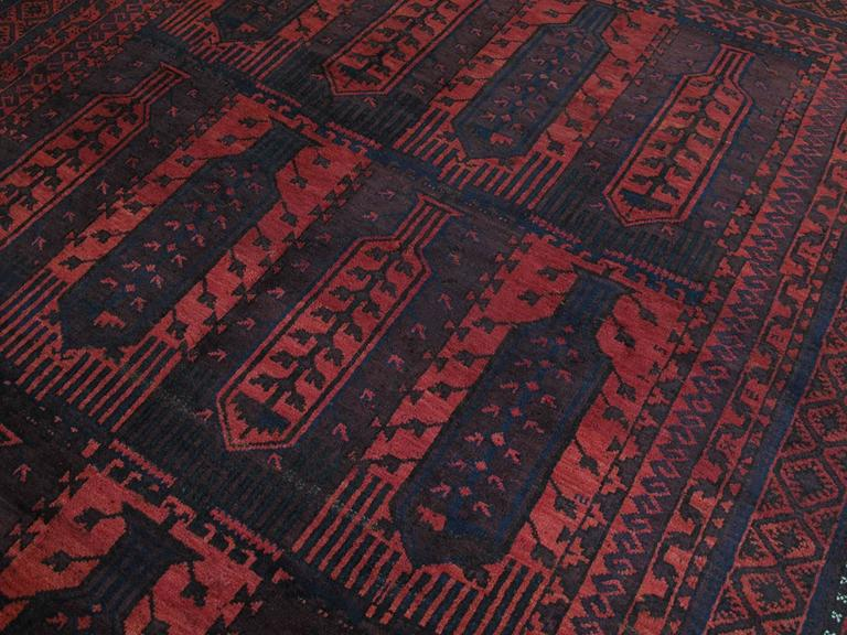 Large Baluch Tribal Carpet 4