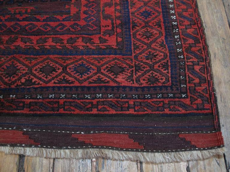 Large Baluch Tribal Carpet 8
