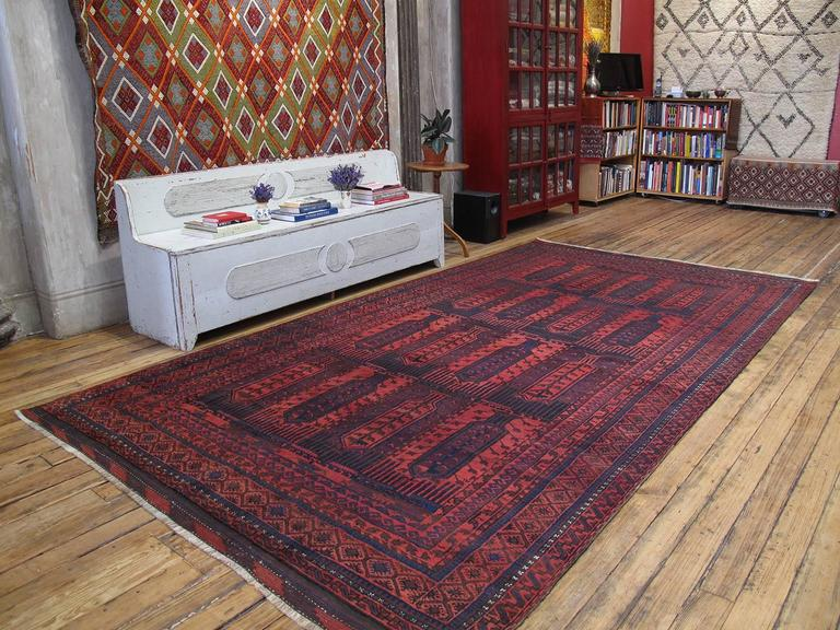 Large Baluch Tribal Carpet 2