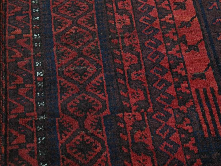 Large Baluch Tribal Carpet 5