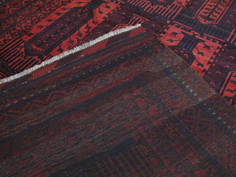 Large Baluch Tribal Carpet 9