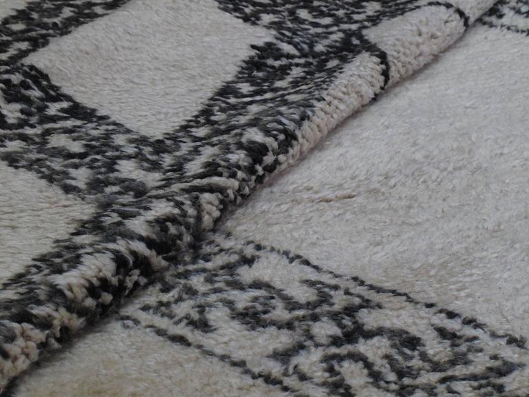 Unusual Marmoucha Berber Moroccan Rug For Sale 1