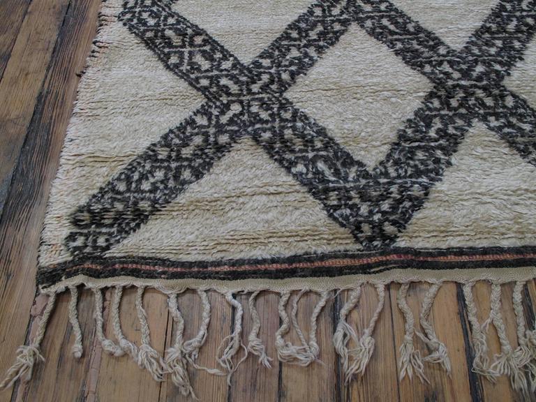 Unusual Marmoucha Berber Moroccan Rug For Sale 2
