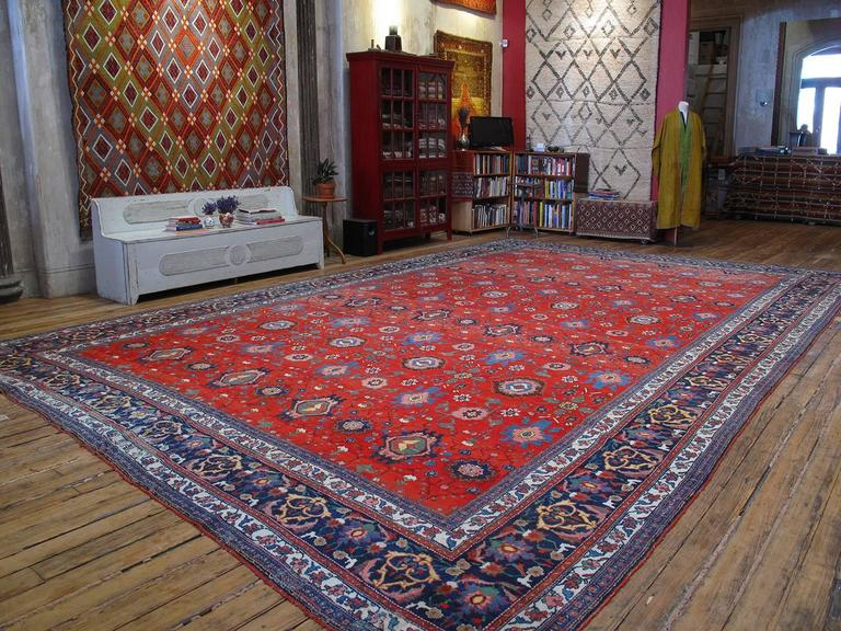 Large Antique Bidjar Carpet 2