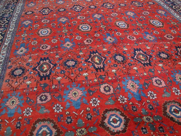 Large Antique Bidjar Carpet 3