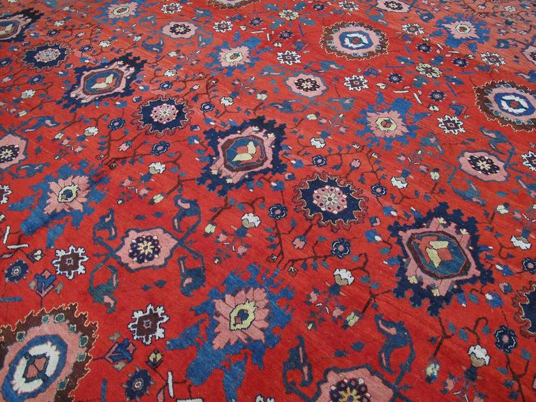 Large Antique Bidjar Carpet 4