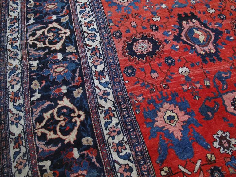 Large Antique Bidjar Carpet 5