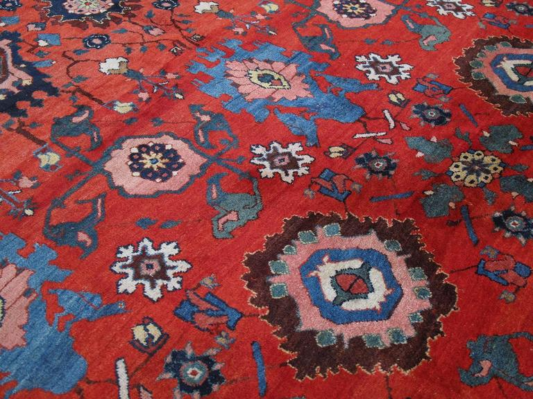 Large Antique Bidjar Carpet 6