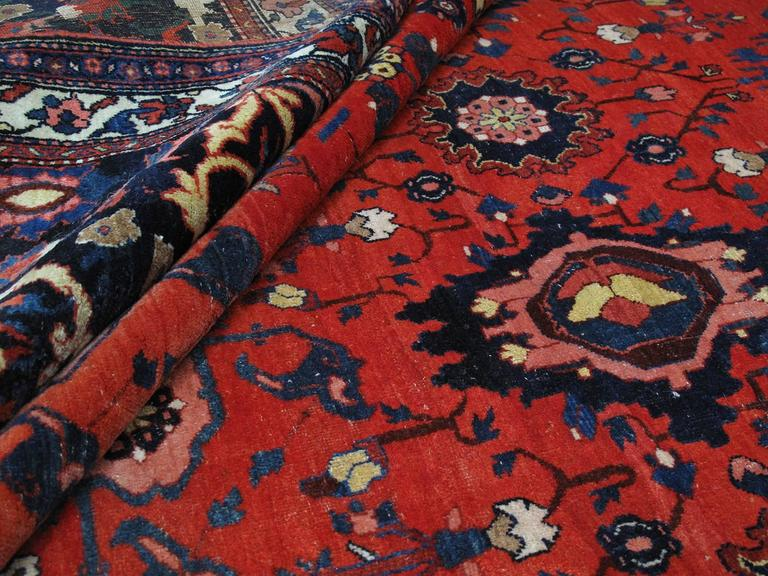 Large Antique Bidjar Carpet 8
