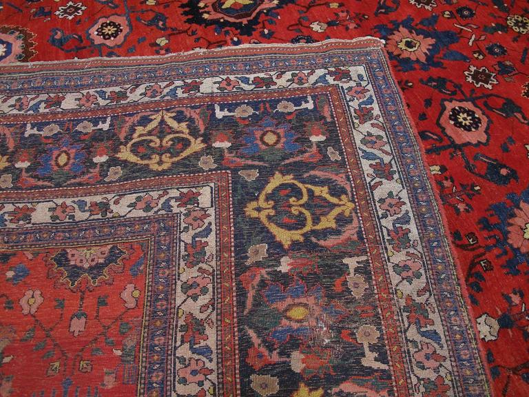 Large Antique Bidjar Carpet 10