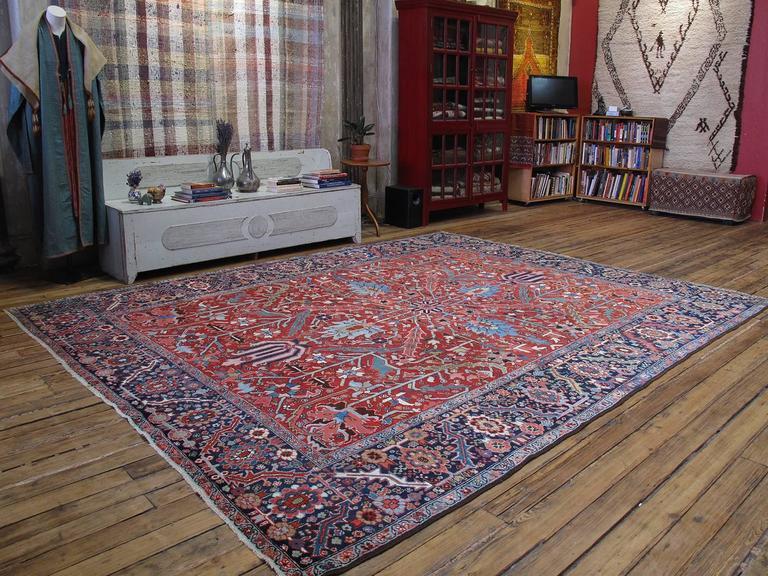 Antique Heriz Carpet 2