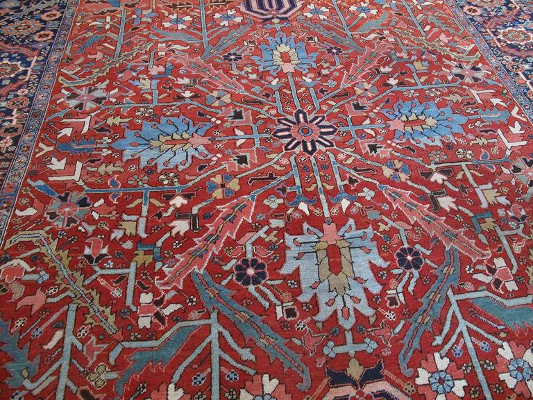 Antique Heriz Carpet 3