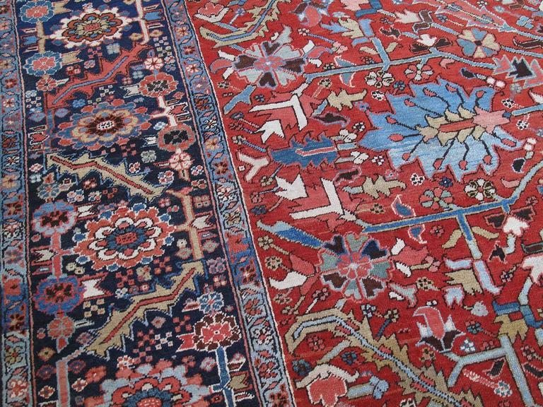 Antique Heriz Carpet 5