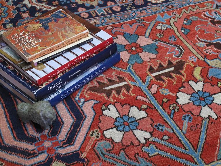 Antique Heriz Carpet 7