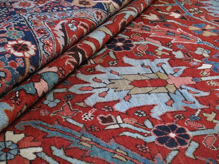 Antique Heriz Carpet 8