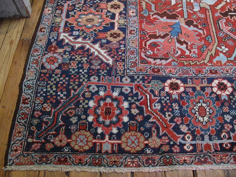 Antique Heriz Carpet 9
