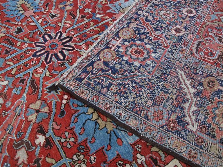 Antique Heriz Carpet 10
