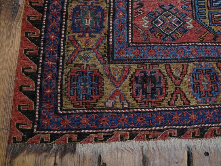 Antique Caucasian Sumak For Sale 2