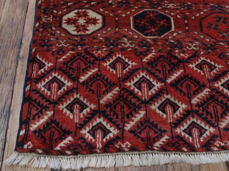 Antique Turkmen Main Carpet For Sale 2