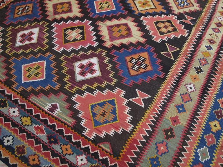 Large Azeri Kilim For Sale At 1stdibs