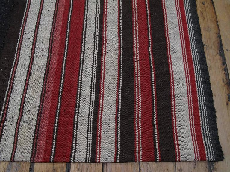 Large Kilim With Vertical Stripes For Sale At 1stdibs