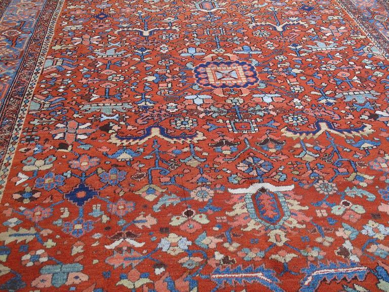 Heriz Serapi Antique Heriz Carpet For Sale