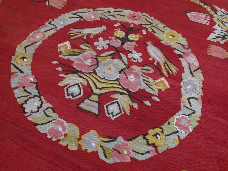 Hand-Woven North Anatolian Kilim For Sale