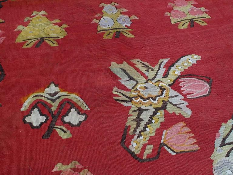 North Anatolian Kilim In Good Condition For Sale In New York, NY
