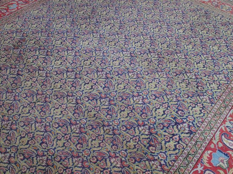 Hand-Knotted Fantastic Kayseri Carpet For Sale