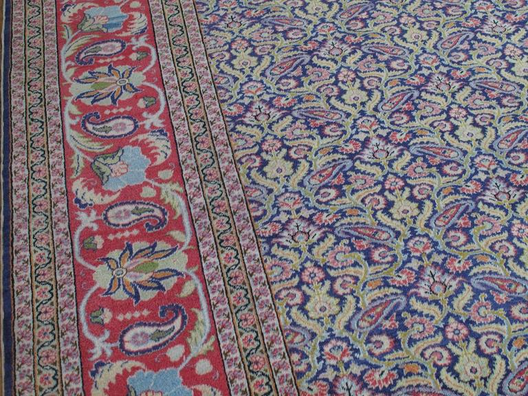 Fantastic Kayseri Carpet In Good Condition For Sale In New York, NY