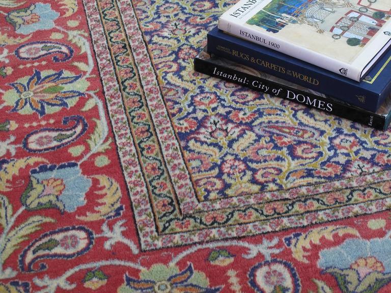 Wool Fantastic Kayseri Carpet For Sale