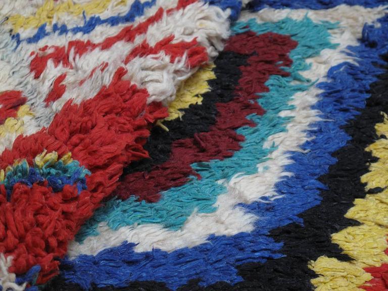 Striking Azilal Berber Moroccan Rug For Sale 1