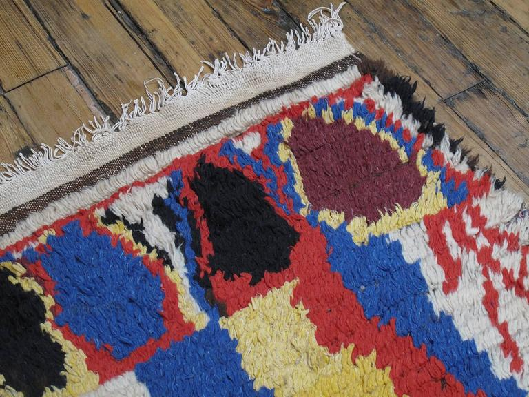 Striking Azilal Berber Moroccan Rug For Sale 2
