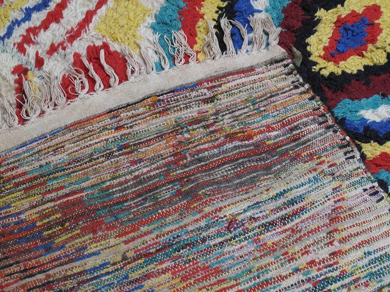 Striking Azilal Berber Moroccan Rug For Sale 3