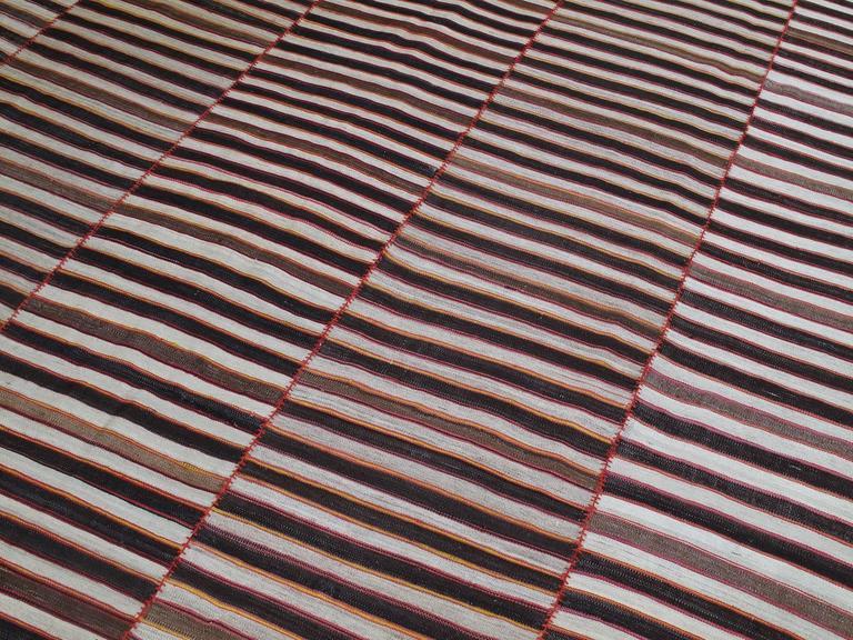 Hand-Woven Mazandaran Kilim For Sale