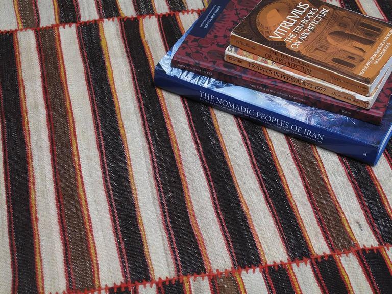 20th Century Mazandaran Kilim For Sale
