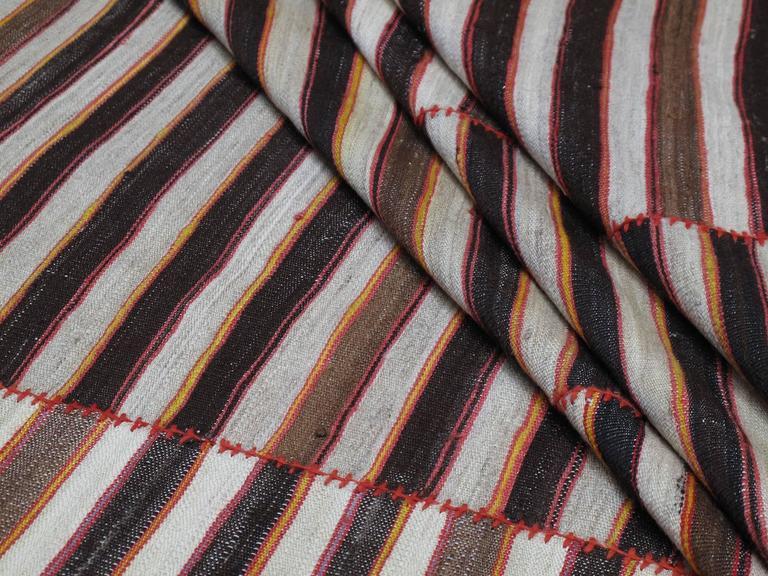 Wool Mazandaran Kilim For Sale