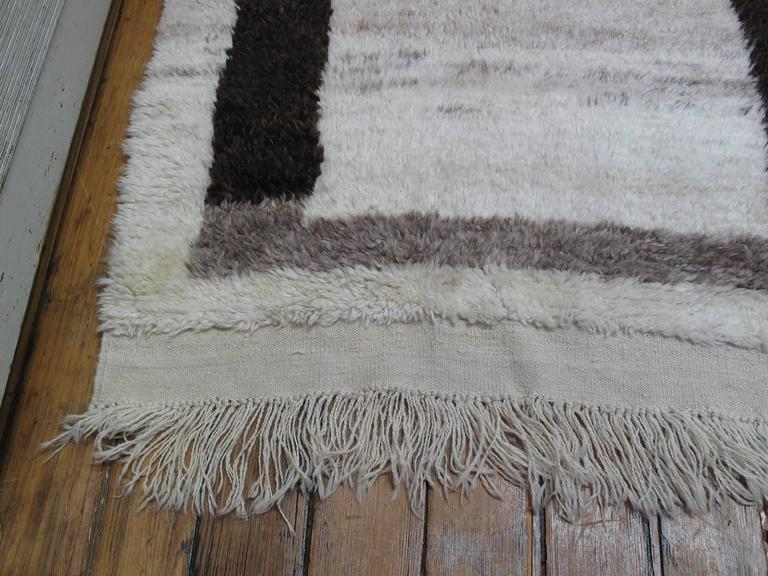 "Small ""Tulu"" Rug with Border 8"