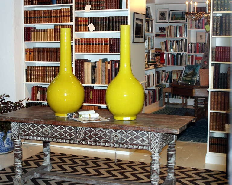 Mid-20th Century Pair of Galloway Terracotta Company Urns For Sale