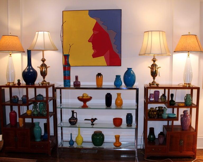 Vintage Italian Bellini Pottery Vase for Wannamaker's For Sale 1