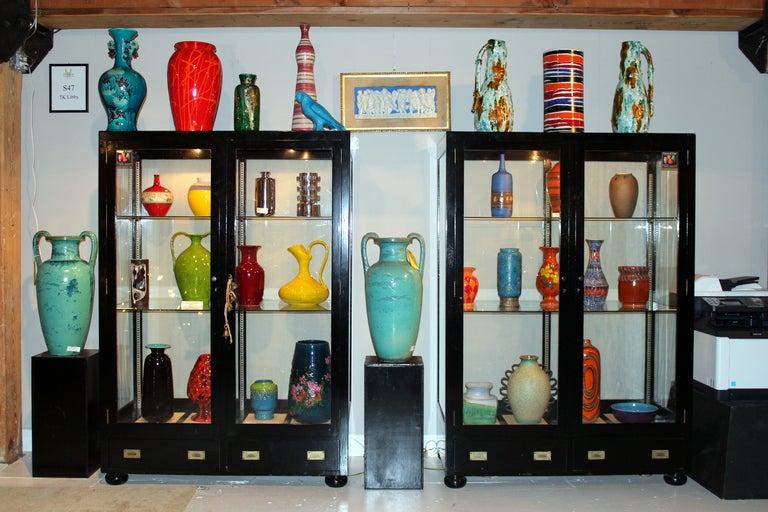 Vintage Italian Bellini Pottery Vase for Wannamaker's For Sale 2