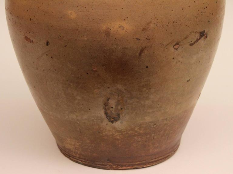 Antique Early 19th Century American Boston Crock Stoneware