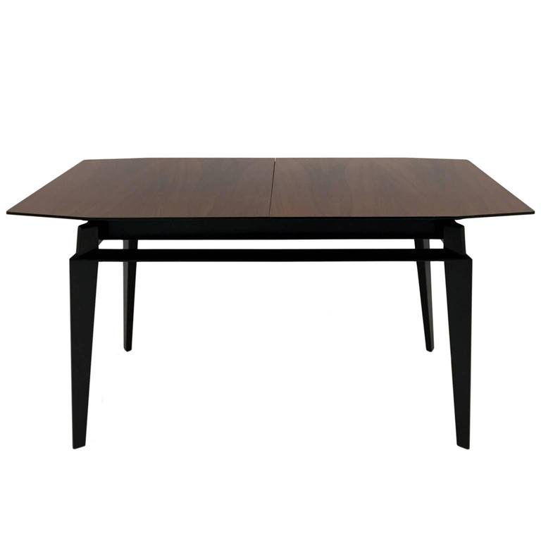 Mid-Century Italian Extendable Rosewood Dining Table by Vittorio Dassi For Sale