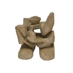 1970s Abstract Sandstone Sculpture #2