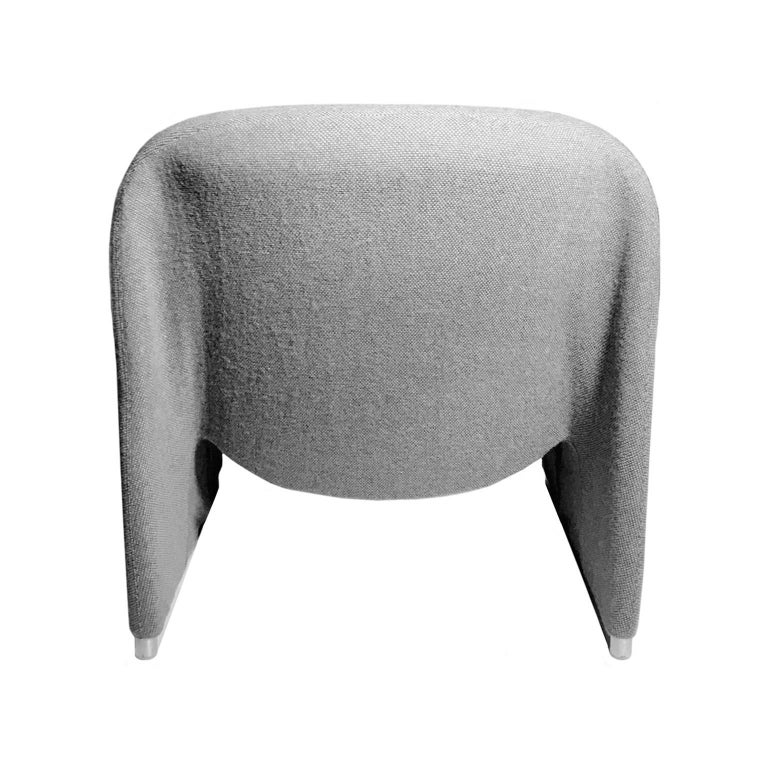 Italian Alky Chair in Grey by Giancarlo Piretti for Castelli For Sale