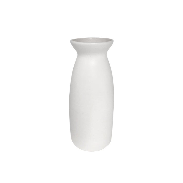 Alabaster Glaze Ceramic Vase #1 by Sandi Fellman