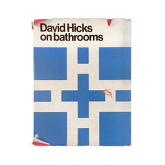 """David Hicks on Bathrooms"" First Edition Design Book"