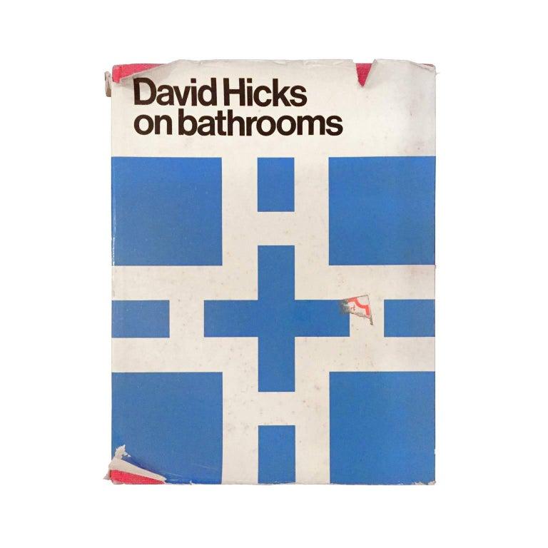 """David Hicks on Bathrooms"" First Edition Design Book"