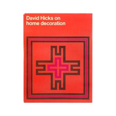 """David Hicks on Home Decoration"" First Edition Design Book"